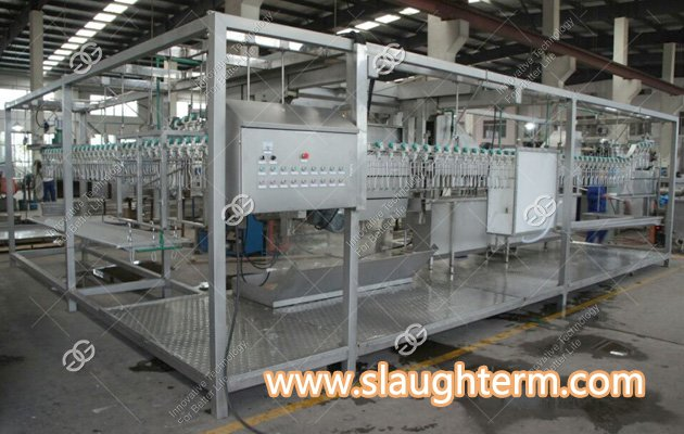 <b>Automatic Chicken Processing Plant Equipment for 300 Birds</b>