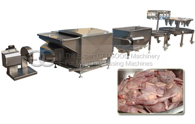 Slaughter Machine for Quail